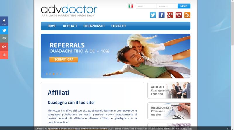 ADV Doctor – Affiliazioni simili Adsense